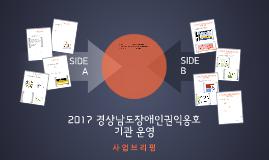 Copy of 2017 경상남도장애인권익옹호기관 운영