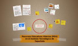 Recursos Educativos Abiertos (REA) en el Instituto Tecnológi