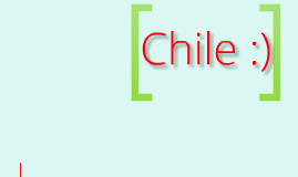 Spanish Project: Chile :)