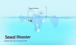 세Sewol Disaster