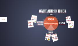MARAKNYA KORUPSI DI INDONESIA