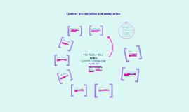 Chapter presentation