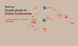 Normas Constitucionais de Direitos Fundamentais