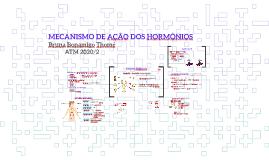 MONITORIA ENDOCRINOLOGIA I