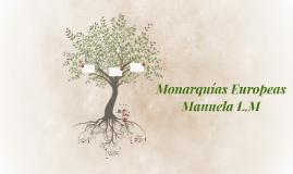 Monarquías europeas manuela