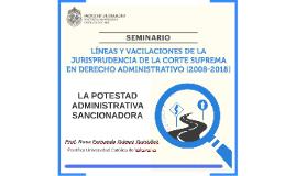 La potestad administrativa sancionadora