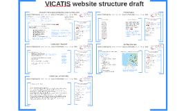 VICATIS website structure draft