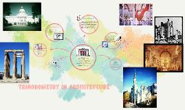 Trigonometry in Architecture