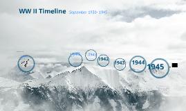 Copy of WW II Timeline w/ Activities: Part B