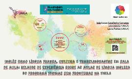 Inglês como Língua Franca, Cultura e Translinguagens em sala