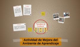 Actividad de Mejora del Ambiente de Aprendizaje