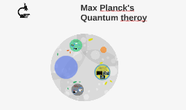 Max Planck's Quantum theroy