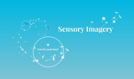 Copy of Copy of Sensory Imagery