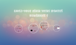 Savez-vous gérer votre identité numérique ?