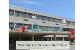 Western High School Early College