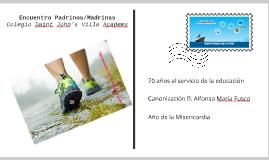 Encuentro Padrinos/Madrinas de Confirmación