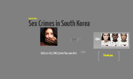 Copy of Sex Crimes in South Korea