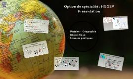Histoire -Géographie-Géopolitique-Sciences politiques