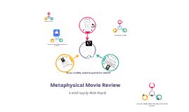 Metaphysics Mind Map