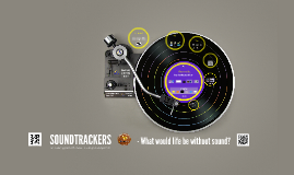 SOUNDTRACKERS - Brussels conference 2015