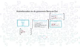 Copy of Statushouders in de gemeente Berg en Dal