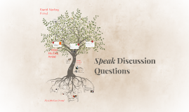 Speak Discussion Questions