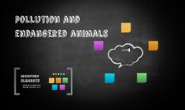contaminación y animales en extinción