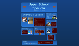5th Grade Specials