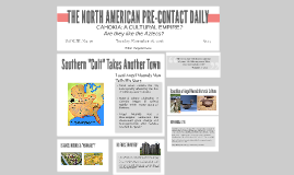 NORTH AMERICA PRE-CONTACT