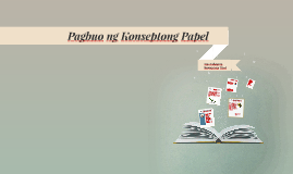 konseptong papel Read this essay on konseptong papel come browse our large digital warehouse of free sample essays get the knowledge you need in order to pass your classes and more only at termpaperwarehousecom.