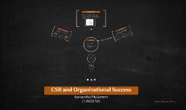 CSR and Organizational Success