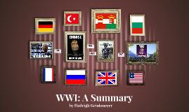 WWI: A Summary
