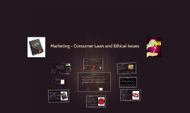Copy of Marketing - Consumer Laws