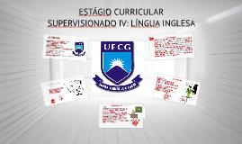 ESTÁGIO CURRICULAR SUPERVISIONADO III 2015.1