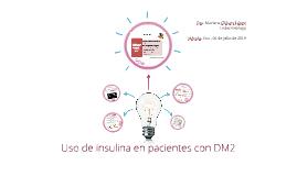 Insulinización temprana en DM2