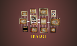 The Ibaloi or Nabaloi is an indigenous ethnic group found i