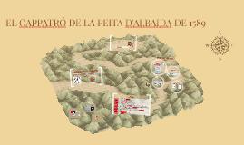 EL CAPPATRÓ DE LA PEITA D'ALBAIDA DE 1589