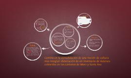 Propuesta y plan de trabajo: Camino en la consolidación de una noción de cultura más integral: elaboración de un inventario de recursos culturales en los cantones de Mora y Santa Ana