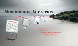 Copy of Movimientos Literarios