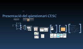 Presentació del CESC