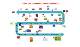 Copy of Copy of Linea del Tiempo Mantenimiento