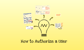 Authorize a User