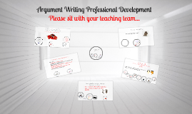 Argument Writing Professional Development