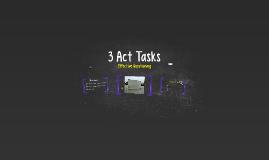 3 Act Task