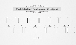 English Political Developments Web-Quest