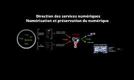 Défis émergeants pour la numérisation et la préservation du numérique