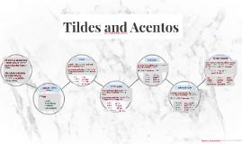 Tildes and Acentos Pt. 2