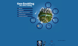 Geo-Enabling Approaches