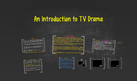 An Introduction to TV Drama