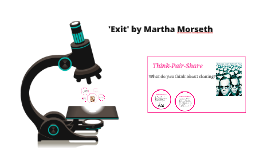 Exit by Martha Morseth